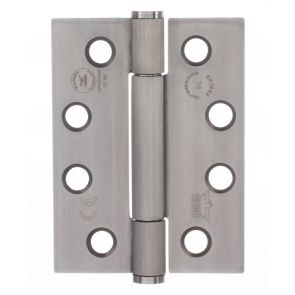 7730 Concealed Bearing Hinge Stainless Steel 316 - Satin Polished  102 x 76 x 3mm