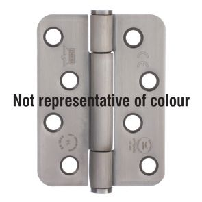 7730 Concealed Bearing Hinge Stainless Steel 316 - Bright Polished   102 x 76 x 3mm