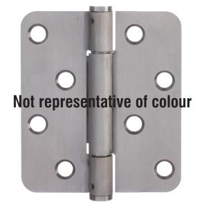 7735 Concealed Bearing Hinge Stainless Steel 316 - Bright Polished  102 x 89 x 3mm