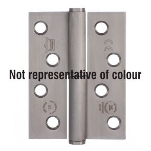 7756 Concealed Bearing Lift Off Hinge - Square Corner - Anti-Clockwise Close - Stainless Steel - Bright Polished  102 x 76 x 3mm