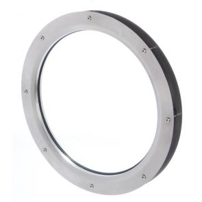 9304 Circular Vision Panel - Stainless Steel - Satin Polished - 570mm Outer Diameter
