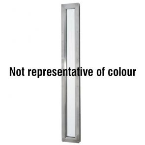 9404 Rectangular Vision Panel - Stainless Steel - Bright Polished - FD30 - 100mm x 1500mm
