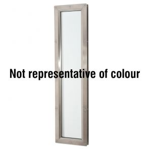 9407 Rectangular Vision Panel - Stainless Steel - Bright Polished - FD30 - 200mm x 1200mm