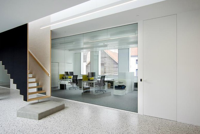 concealed flush door systems